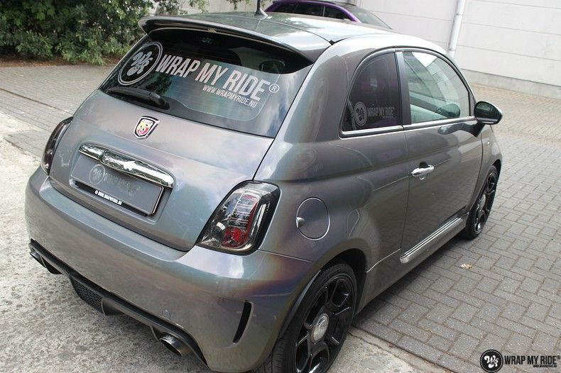 Fiat Abarth 3M gloss Psychedelic Flip, Carwrapping door Wrapmyride.nu Foto-nr:11686, ©2021