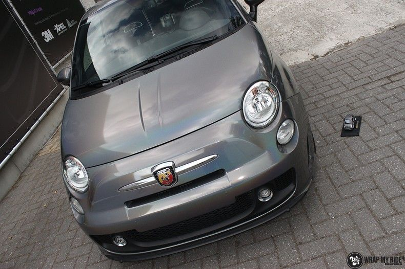 Fiat Abarth 3M gloss Psychedelic Flip, Carwrapping door Wrapmyride.nu Foto-nr:11679, ©2021