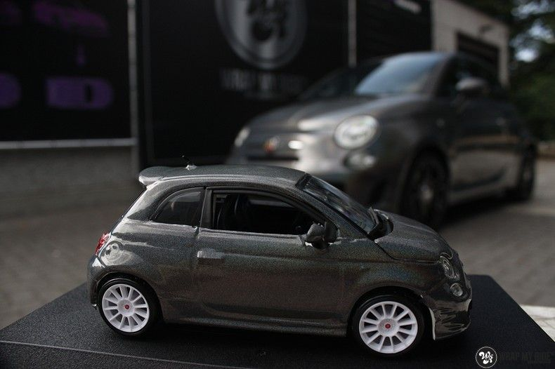 Fiat Abarth 3M gloss Psychedelic Flip, Carwrapping door Wrapmyride.nu Foto-nr:11675, ©2021