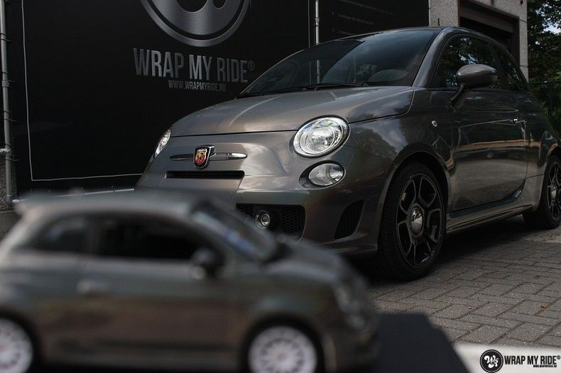 Fiat Abarth 3M gloss Psychedelic Flip, Carwrapping door Wrapmyride.nu Foto-nr:11674, ©2021