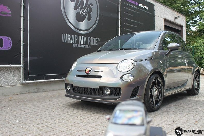 Fiat Abarth 3M gloss Psychedelic Flip, Carwrapping door Wrapmyride.nu Foto-nr:11670, ©2021