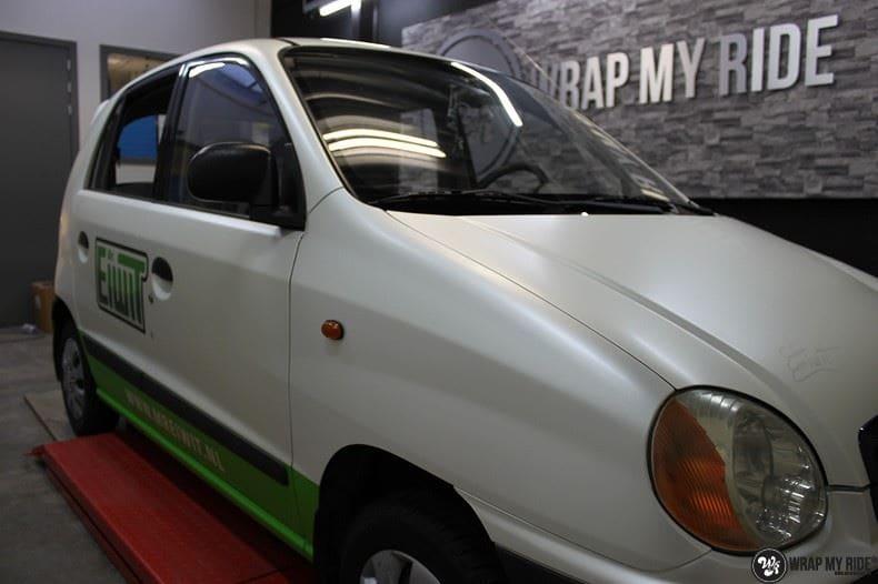 Hyundai Atos MR EIWIT, Carwrapping door Wrapmyride.nu Foto-nr:8732, ©2021