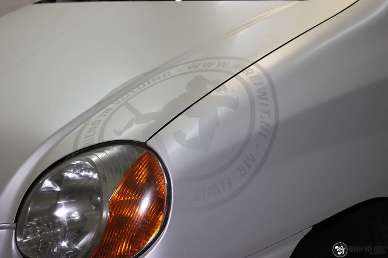 Hyundai Atos MR EIWIT, Carwrapping door Wrapmyride.nu Foto-nr:8727, ©2021