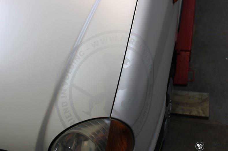 Hyundai Atos MR EIWIT, Carwrapping door Wrapmyride.nu Foto-nr:8726, ©2021