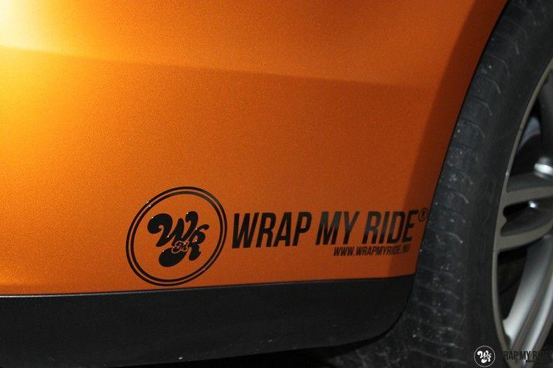 Maserati ghibli satin canyon copper, Carwrapping door Wrapmyride.nu Foto-nr:11577, ©2021