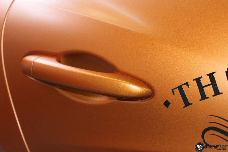 Maserati ghibli satin canyon copper, Carwrapping door Wrapmyride.nu Foto-nr:11585, ©2021