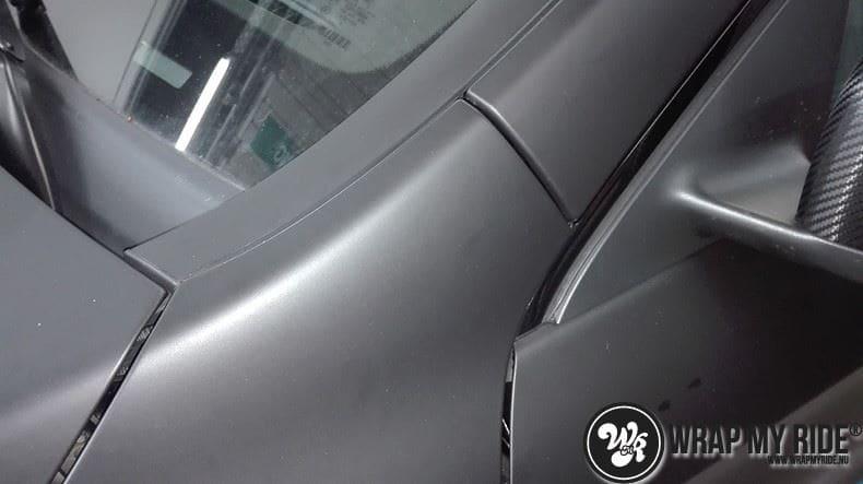MB CLA mat zwart, Carwrapping door Wrapmyride.nu Foto-nr:8062, ©2021