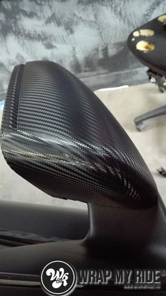 MB CLA mat zwart, Carwrapping door Wrapmyride.nu Foto-nr:8065, ©2021