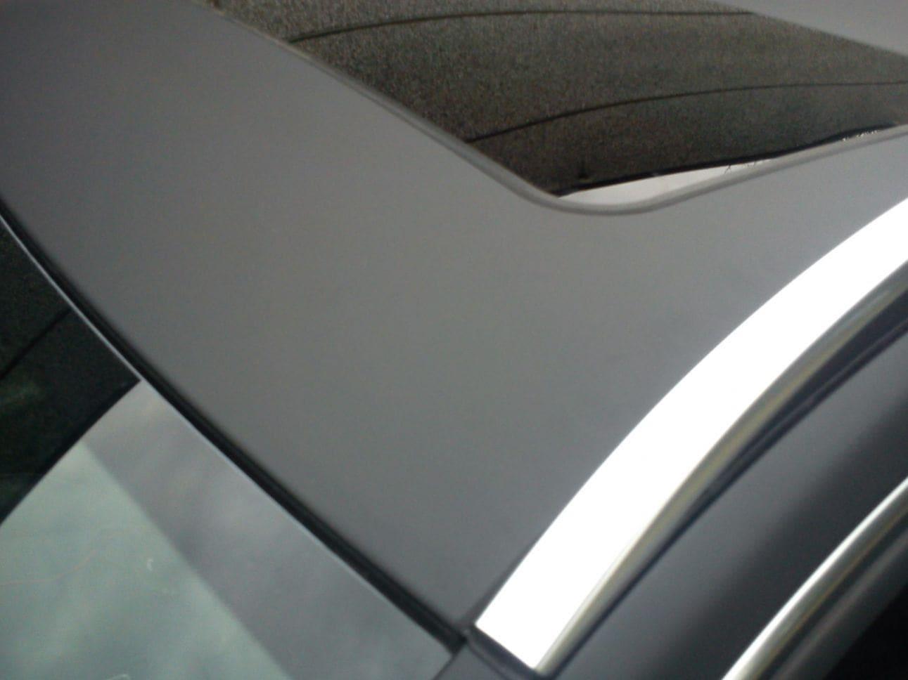 Mercedes E320 met Mat Zwarte Wrap, Carwrapping door Wrapmyride.nu Foto-nr:6235, ©2021