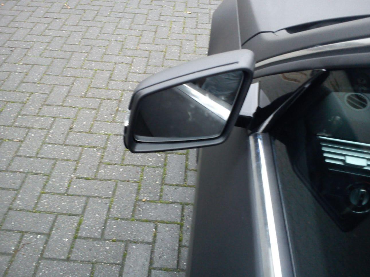 Mercedes E320 met Mat Zwarte Wrap, Carwrapping door Wrapmyride.nu Foto-nr:6237, ©2021