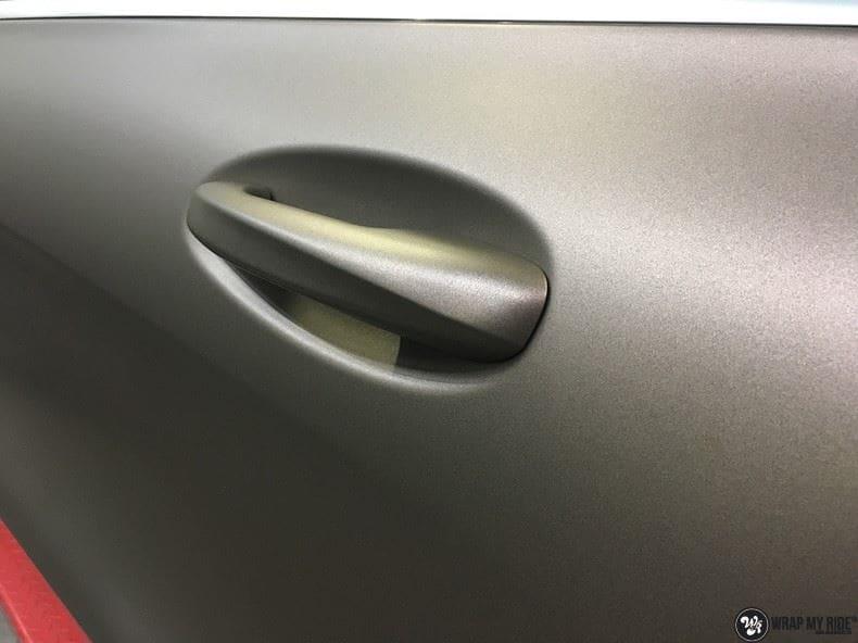 Mercedes GLC matte metallic brown, Carwrapping door Wrapmyride.nu Foto-nr:9566, ©2021