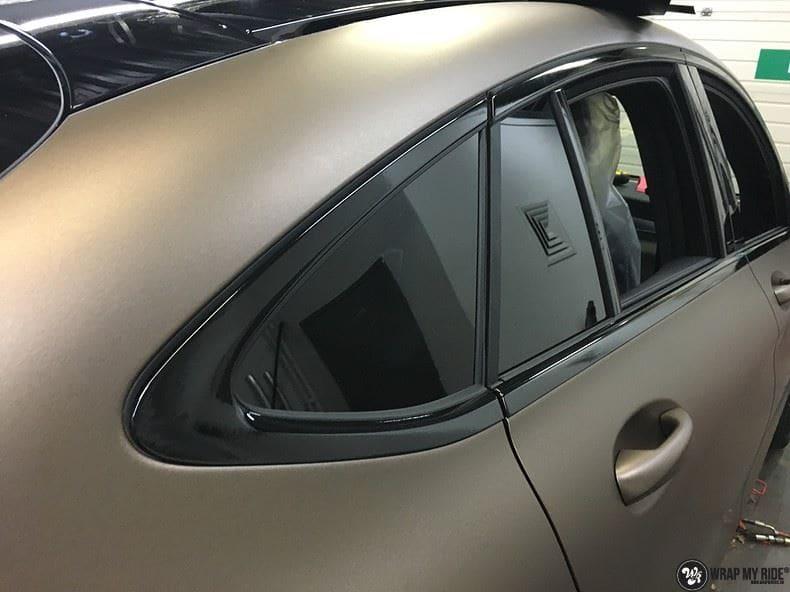Mercedes GLC matte metallic brown, Carwrapping door Wrapmyride.nu Foto-nr:9561, ©2021
