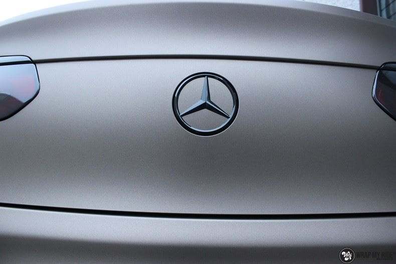 Mercedes GLC matte metallic brown, Carwrapping door Wrapmyride.nu Foto-nr:9540, ©2021