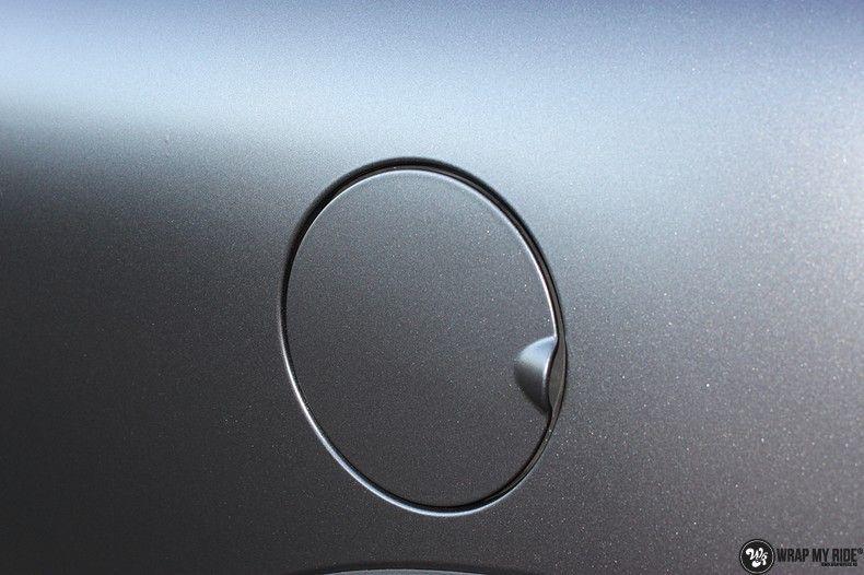 Mini cooper S cabrio Satin Dark Grey, Carwrapping door Wrapmyride.nu Foto-nr:10703, ©2021