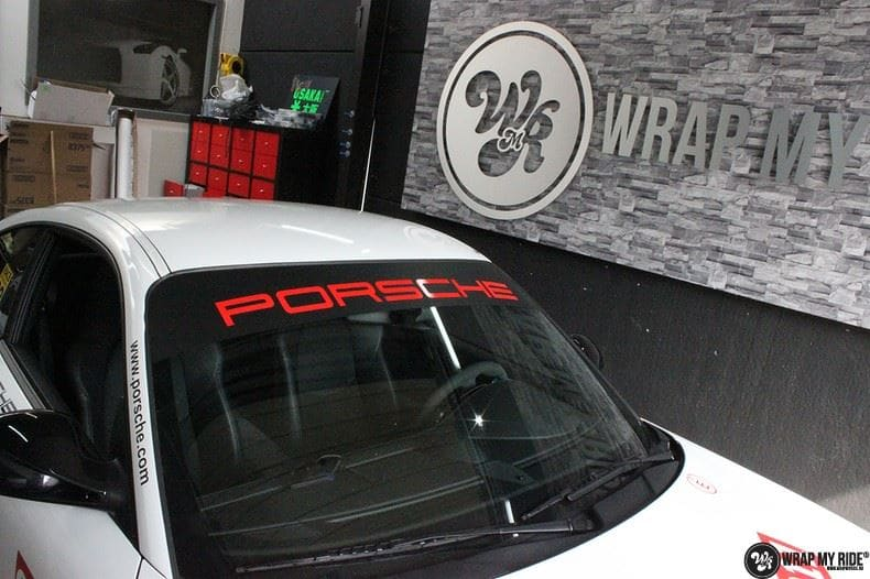Porsche 911 RSR look, Carwrapping door Wrapmyride.nu Foto-nr:9773, ©2021