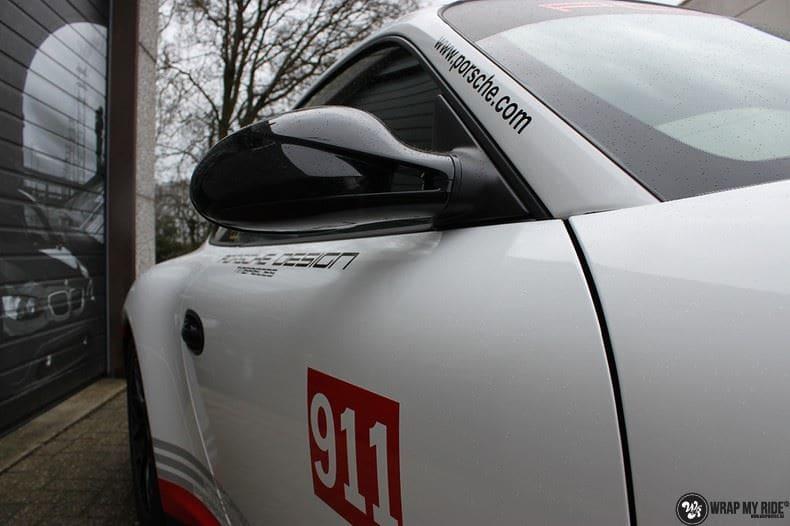 Porsche 911 RSR look, Carwrapping door Wrapmyride.nu Foto-nr:9789, ©2021