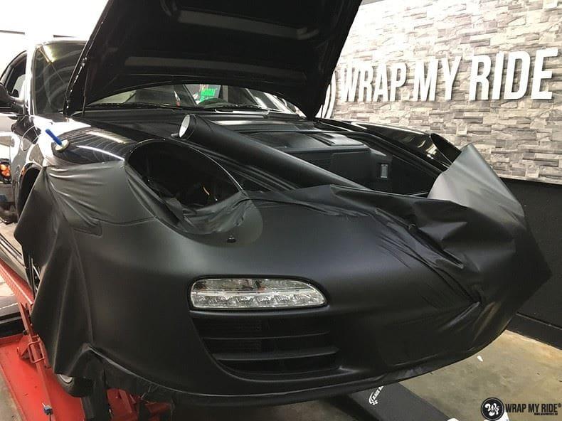 Porsche 911 RSR look, Carwrapping door Wrapmyride.nu Foto-nr:9790, ©2021