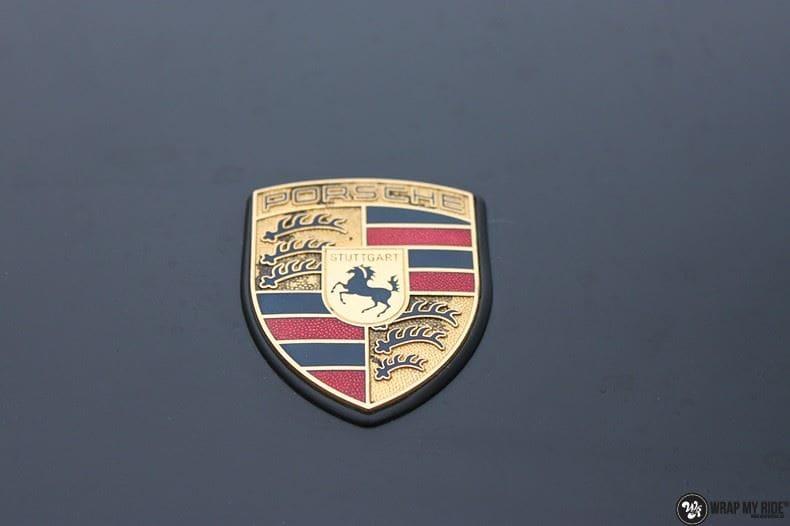 Porsche 997 mat zwart, Carwrapping door Wrapmyride.nu Foto-nr:9056, ©2021