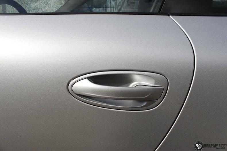Porsche 997 Satin White Aluminium, Carwrapping door Wrapmyride.nu Foto-nr:9663, ©2021