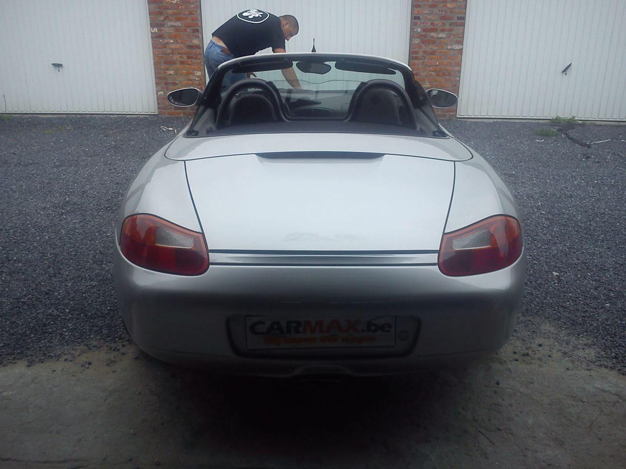 Porsche Boxter met Gunpowder Wrap, Carwrapping door Wrapmyride.nu Foto-nr:6719, ©2021