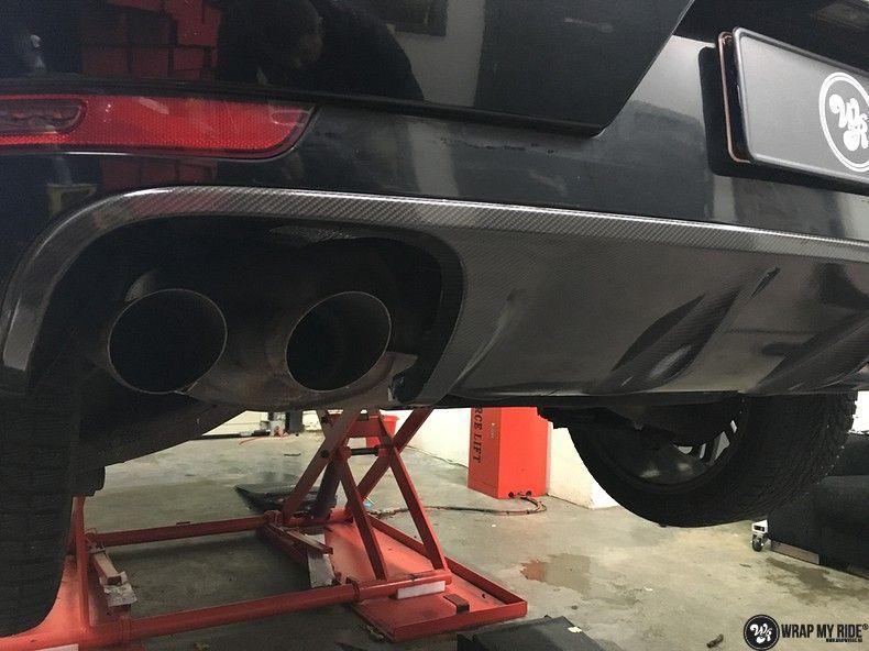 Porsche Macan Carbon accenten, Carwrapping door Wrapmyride.nu Foto-nr:10827, ©2021