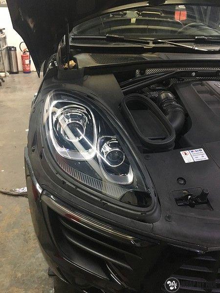 Porsche Macan Carbon accenten, Carwrapping door Wrapmyride.nu Foto-nr:10823, ©2021