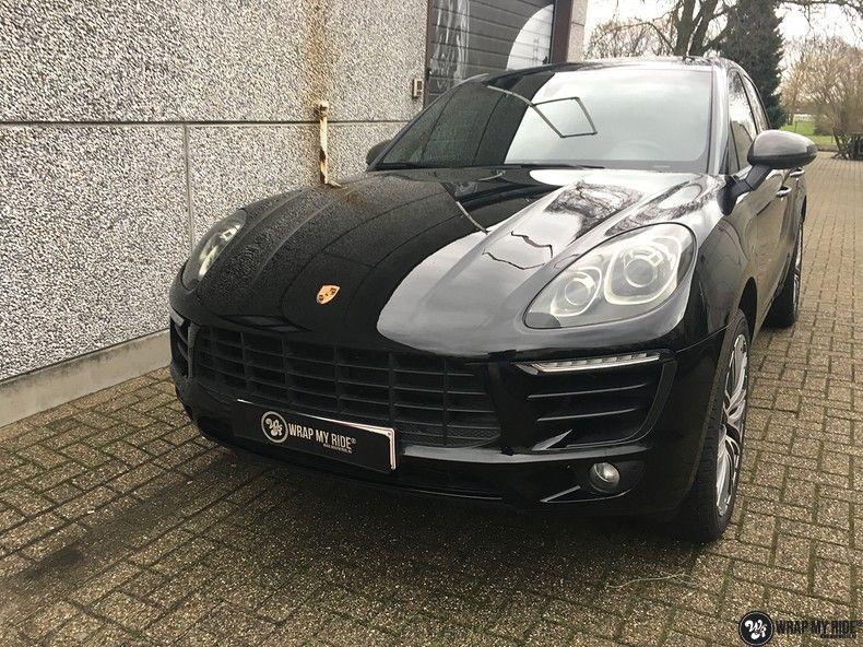 Porsche Macan Carbon accenten, Carwrapping door Wrapmyride.nu Foto-nr:10816, ©2021