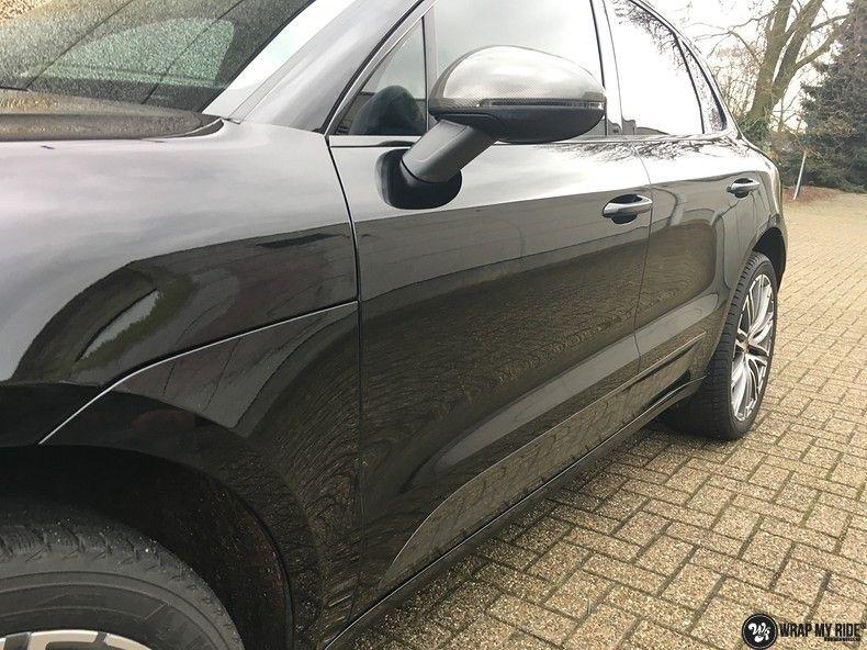Porsche Macan Carbon accenten, Carwrapping door Wrapmyride.nu Foto-nr:10811, ©2021