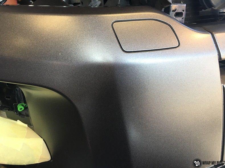 Range Rover Evoque Satin Dark Grey, Carwrapping door Wrapmyride.nu Foto-nr:11018, ©2021