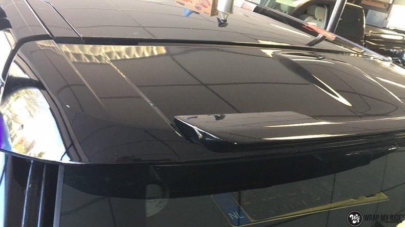 Range Rover Evoque Satin Dark Grey, Carwrapping door Wrapmyride.nu Foto-nr:11033, ©2021