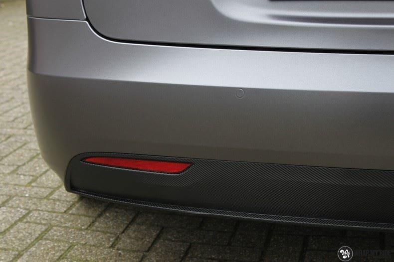 Tesla Model S Satin Dark Grey, Carwrapping door Wrapmyride.nu Foto-nr:9585, ©2021