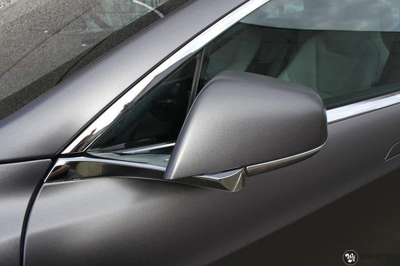 Tesla Model S Satin Dark Grey, Carwrapping door Wrapmyride.nu Foto-nr:9580, ©2021