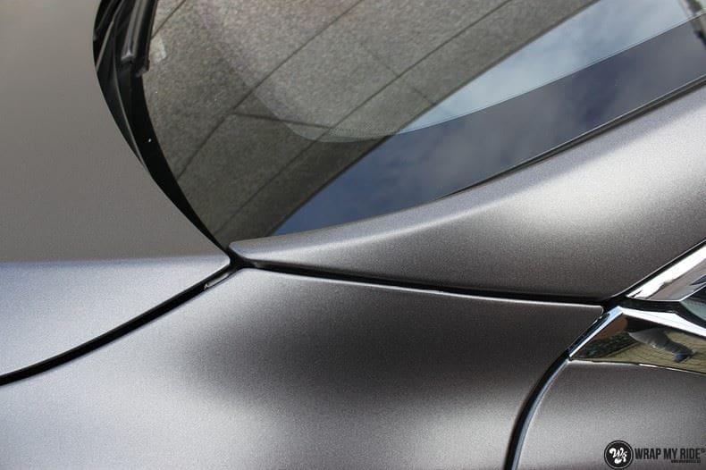 Tesla Model S Satin Dark Grey, Carwrapping door Wrapmyride.nu Foto-nr:9579, ©2021