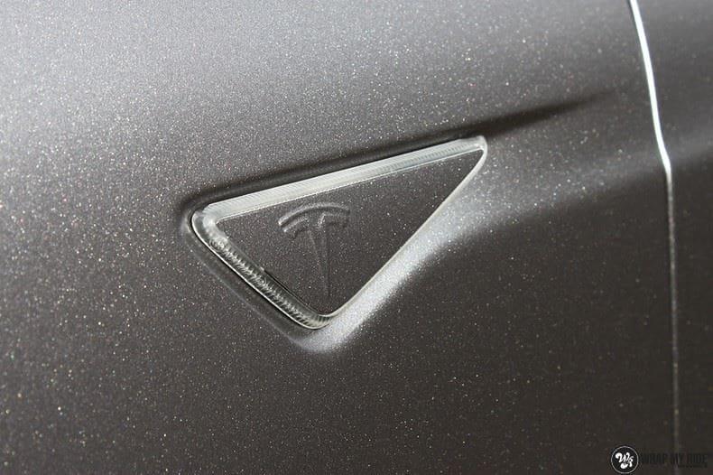 Tesla Model S Satin Dark Grey, Carwrapping door Wrapmyride.nu Foto-nr:9572, ©2021